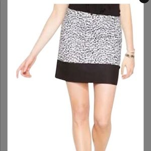 Michael Kors print a line mini skirt 2
